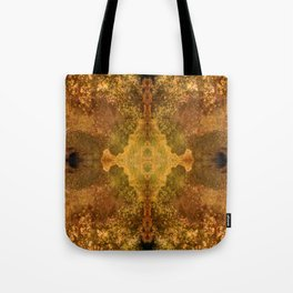 FiberPrint No. 8 Combustion Tote Bag