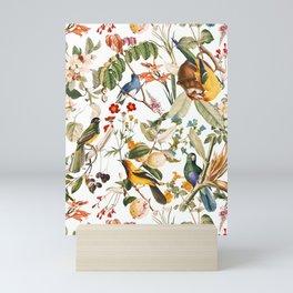 Floral and Birds XXXII Mini Art Print
