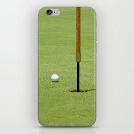 Golf Pin iPhone Skin