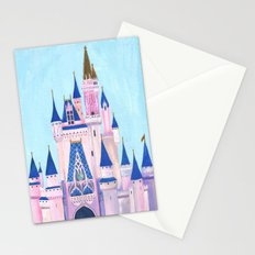 Cinderella's Castle Stationery Cards