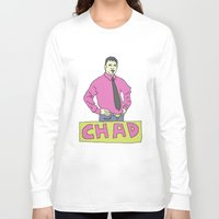 chad wys Long Sleeve T-shirts featuring chad by gutswav