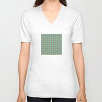 geo V-neck T-shirts featuring Geo by wendygray