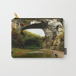 Natural Bridge photography Carry-All Pouch
