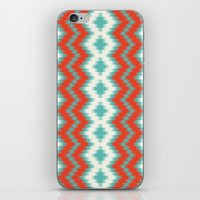 ikat iPhone & iPod Skins featuring Ikat by Deepti Munshaw