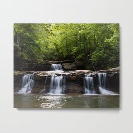 Drawdy Falls, Drawdy, West Virginia Metal Print