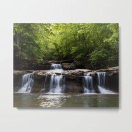 Drawdy Falls, Drawdy, West Virginia Metal Print