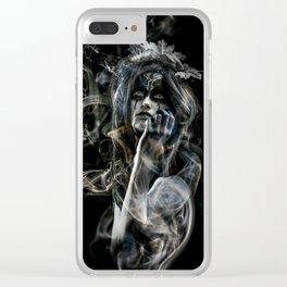 Mystical Dreams Clear iPhone Case
