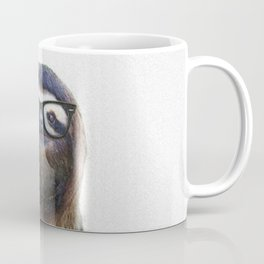 Hipster Sloth Coffee Mug