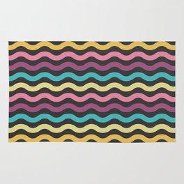 Rainbow Waves Rug