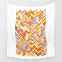 blanket Wall Tapestries featuring Blanket by Tonya Doughty