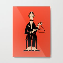 The Percussionist Metal Print