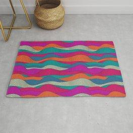 Bright stripes pattern Rug