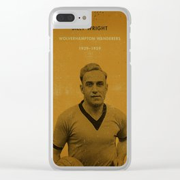 Wolves - Wright Clear iPhone Case