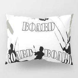 Board Board Board Kitesurfer Pillow Sham