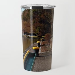 River Danube valley, at the harbour | waterscape photography Travel Mug