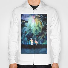 Deep forest Hoody