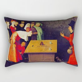 The Conjurer Rectangular Pillow