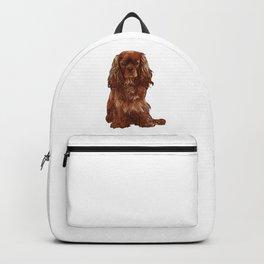 Cavalier King Charles Spaniel - Ruby Backpack