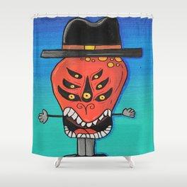 Creatch: Meet Herm Shower Curtain