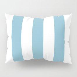 Powder Blue & White Stripe Pillow Sham