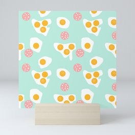 #Abstract #pattern #eggs Mini Art Print