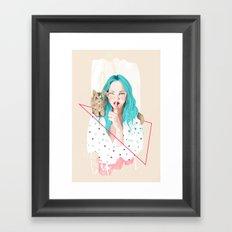 Shhh... Framed Art Print