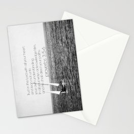 Proverbs 3 Nautical Stationery Cards