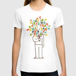 I bring flowers T-shirt