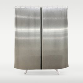 Waiting For. Fashion Textures Shower Curtain