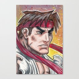 Street Fighter - Ryu Canvas Print