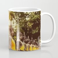 nirvana Mugs featuring Buddhist Nirvana by Maioriz Home