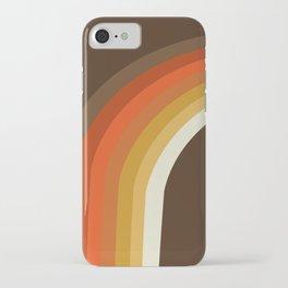 Rad - 70s style throwback rainbow art 1970s minimalist art iPhone Case