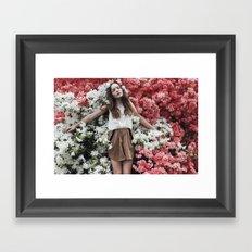 Emily in Reverie Framed Art Print
