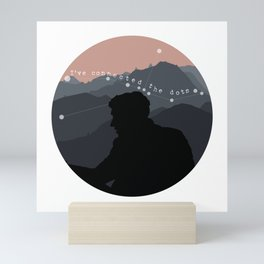 """Ive connected the dots"" Shane Madej Graphic Mini Art Print"