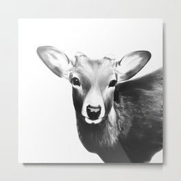 Kawaii deer Metal Print