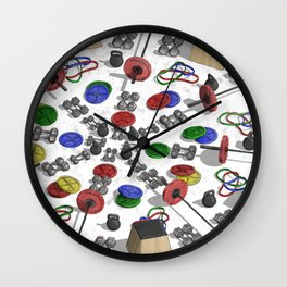 Weighted Array Wall Clock