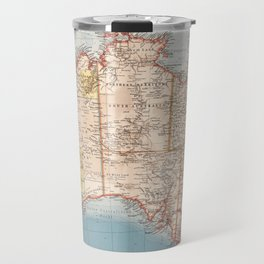 Australian Topography Map (1905) Travel Mug