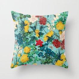 Summer Botanical III Throw Pillow