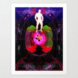 HERO ARMOUR Art Print