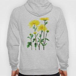 yellow chrysanthemum Hoody