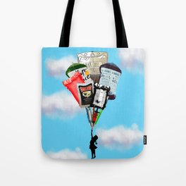 Syringes and blood Tote Bag