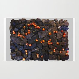 Coal and Hips 01 Rug