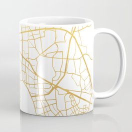 CAPE TOWN SOUTH AFRICA CITY STREET MAP ART Coffee Mug