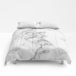 Luxury white marble Comforters