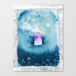 Cloudwaves Canvas Print