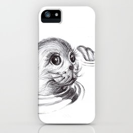 Baby Sea Lion iPhone Case