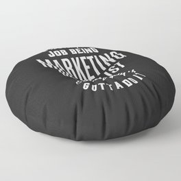 Marketing Specialist Floor Pillow
