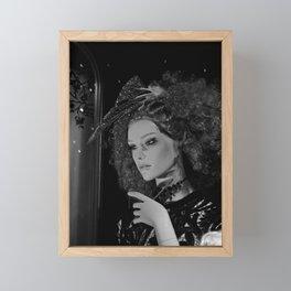 Break your Fall Framed Mini Art Print