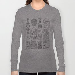 Pickles Print Long Sleeve T-shirt