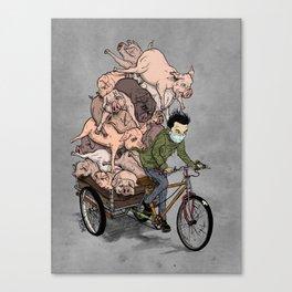 Shanghai Pork Trike Canvas Print
